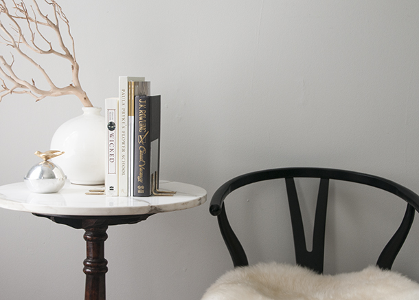 diy acrylic bookend