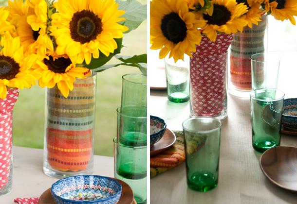 party vase color