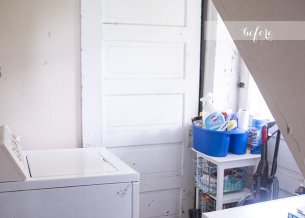 laundry reno - before