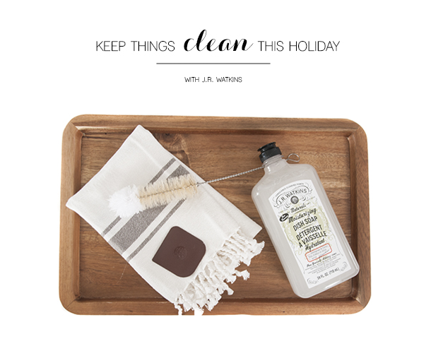 clean holiday with JR watkins