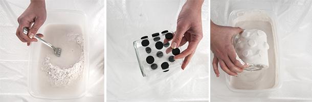 plaster vase tutorial