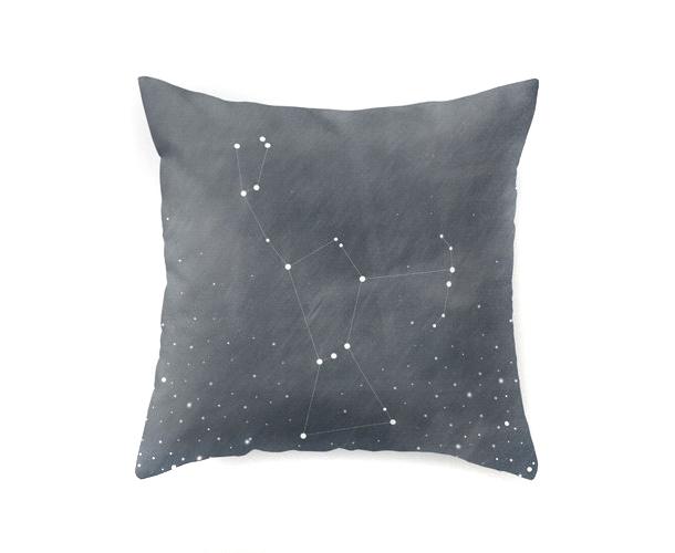 seeing stars constellation pillow