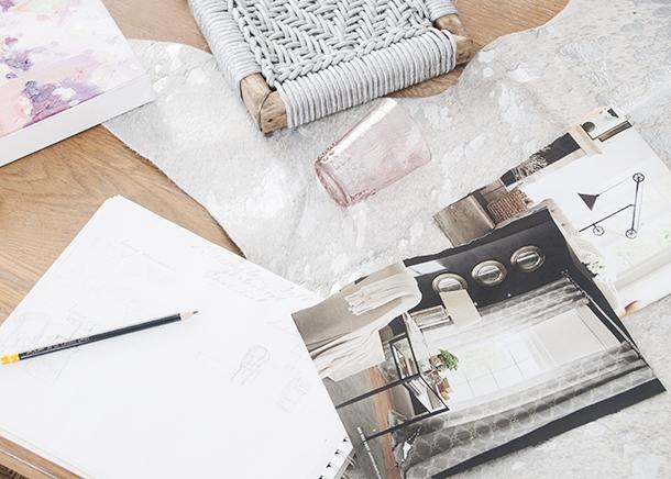 grandiflora home + decor photoshoot design