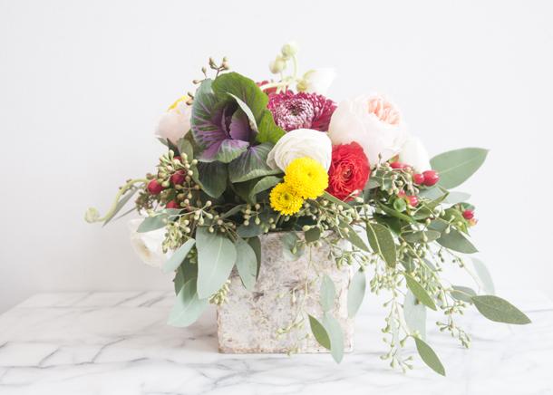 pretty autumn wedding flowers