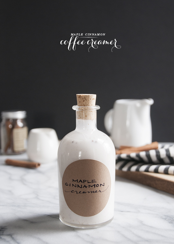 maple cinnamon coffee creamer