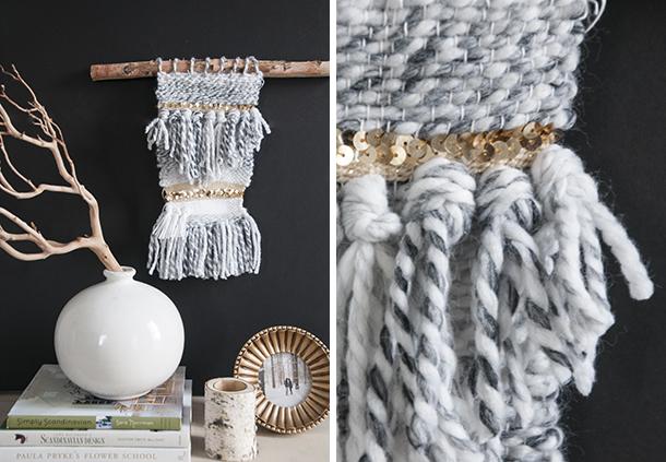 yarn weave wall hanging