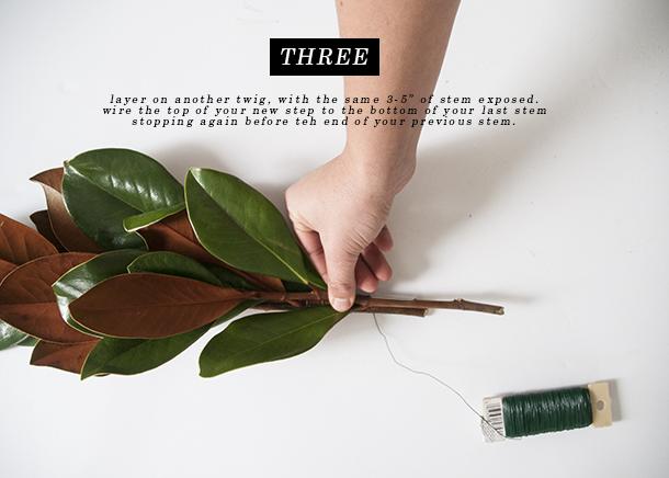 magnolia garland tutorial 4