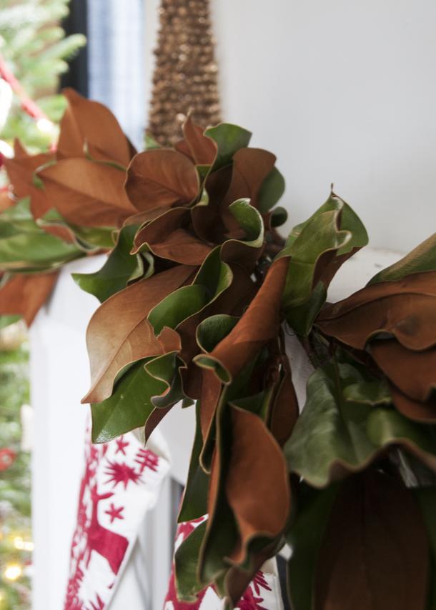 diy magnolia garland