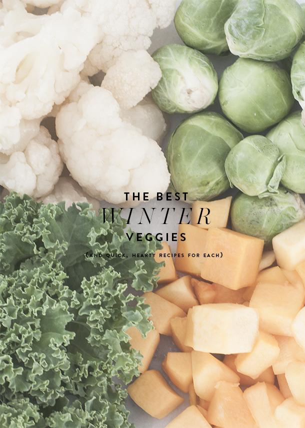 for best winter vegetable recipes