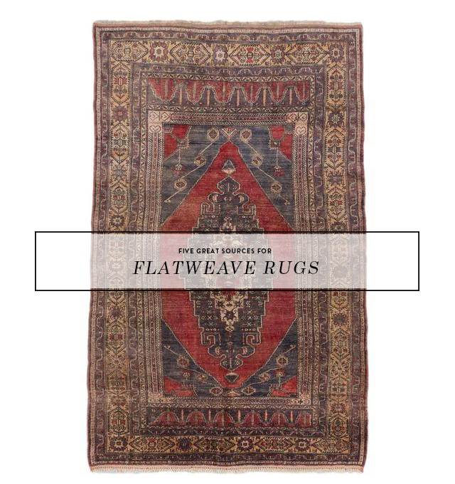 5 GREAT RUG SOURCES