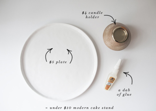 cake stand materials