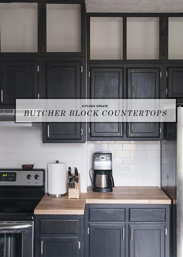 butcher block countertops update