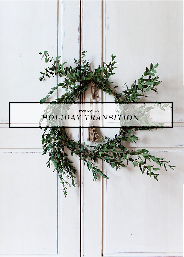 how do you holiday transition