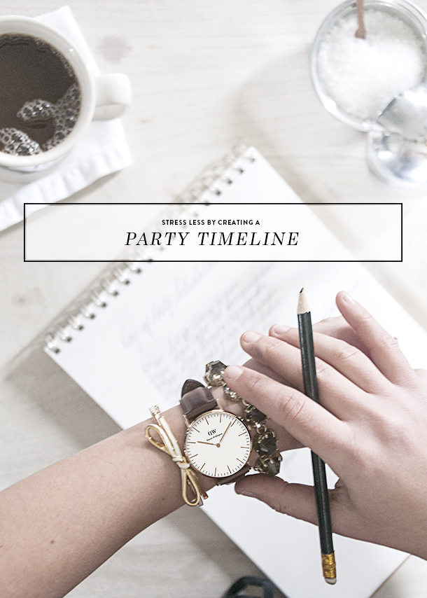 party timeline