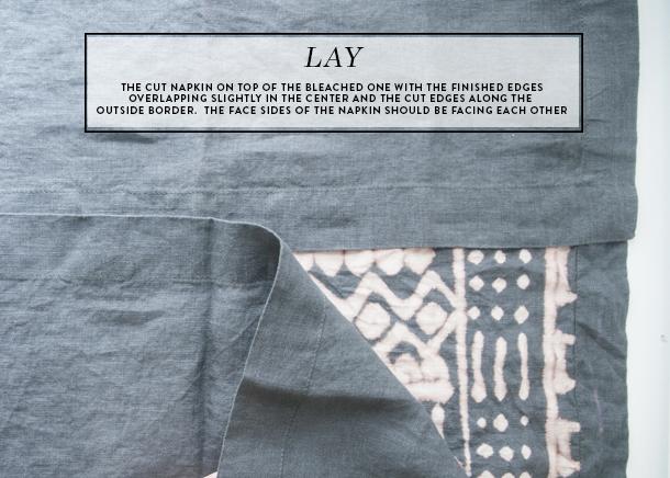 mudcloth pillow diy - back