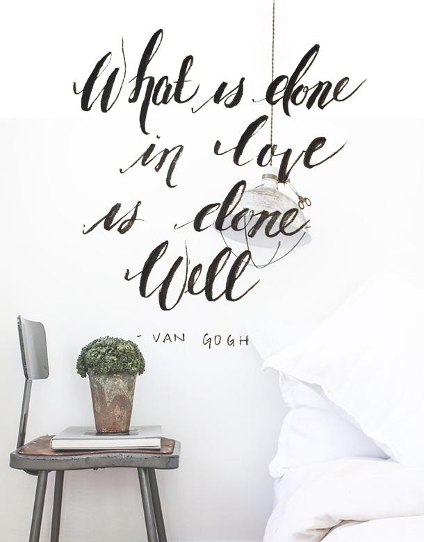 done in love