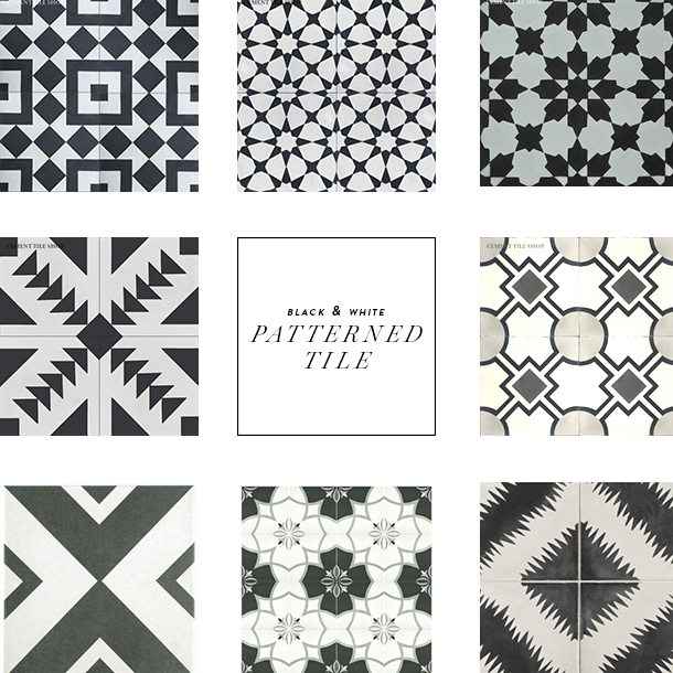 pattern tile inspiration