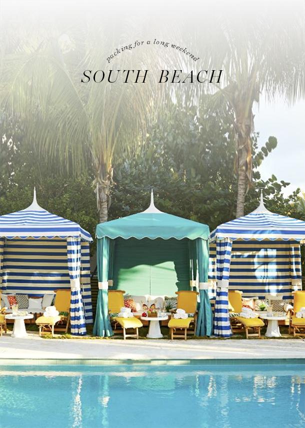 south beach long weekend