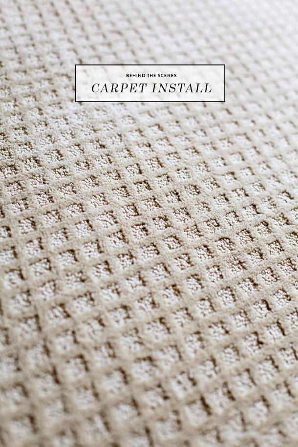 carpet install BTS