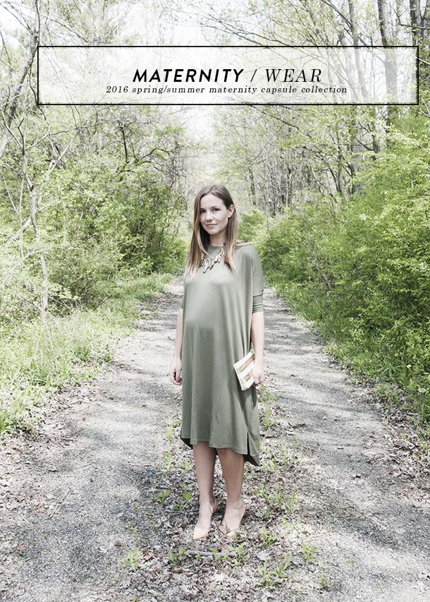 maternity capsule collection