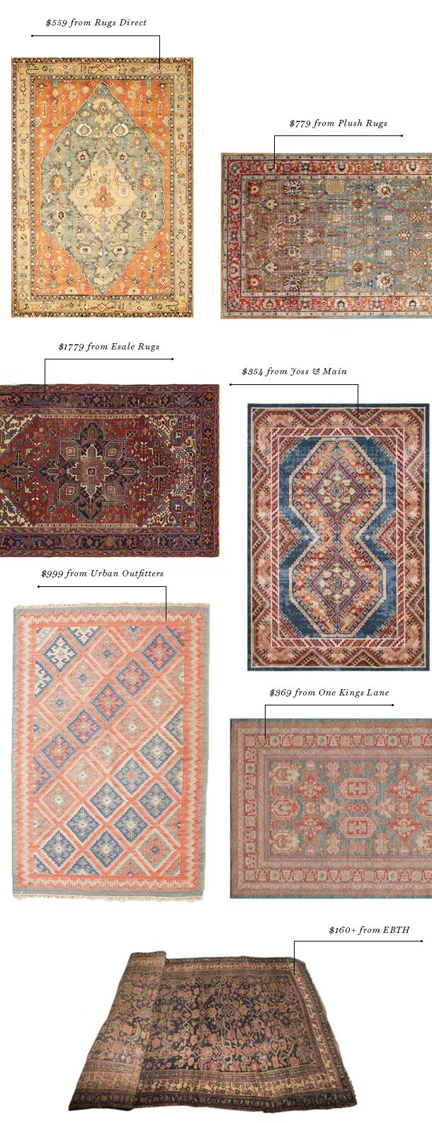 nursery rug options