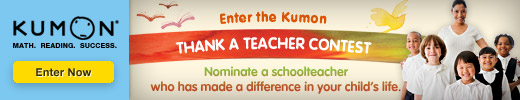 Kumon Thank a Teacher Contest