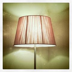 shade of tall lamp