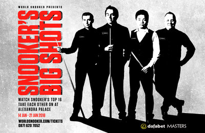 World Snooker Dafabet Masters central creative featuring Ronnie O