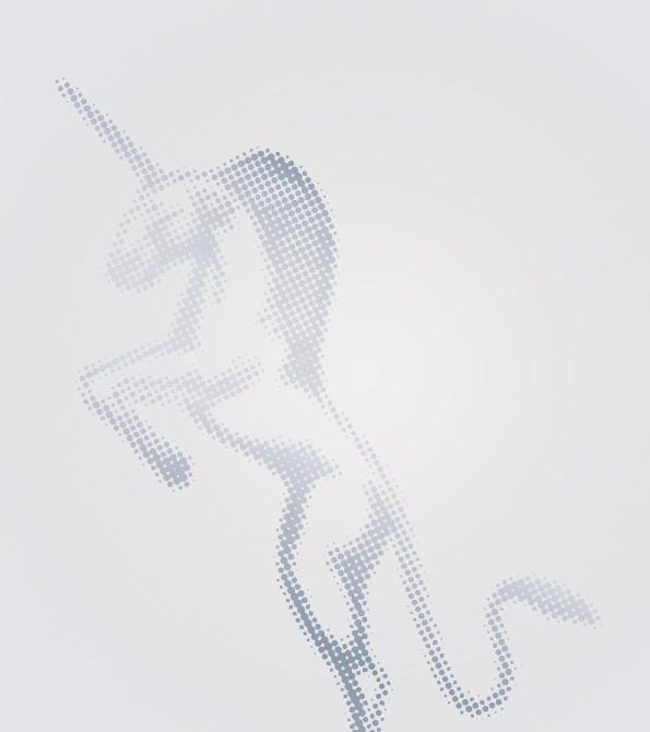 Unicorn Darts- Classic Unicorn Logo Design. Earnie creative design.