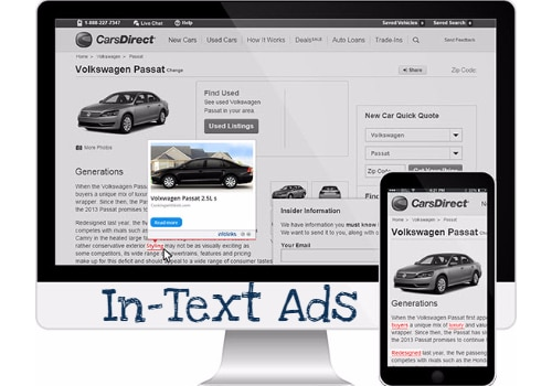 In-Text Advertisements