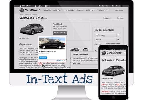 Best In-Text Advertisement Programs
