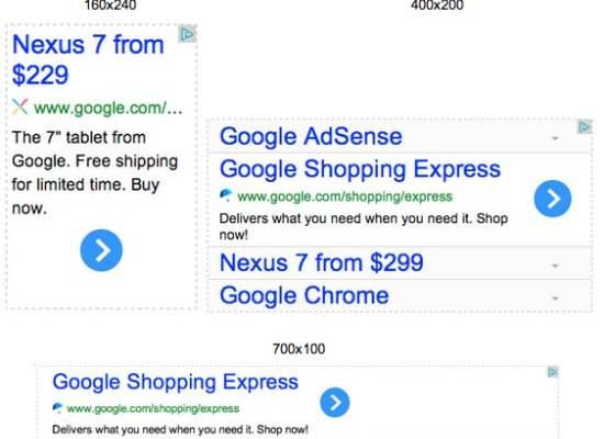 Custom-Sized Adsense Ads