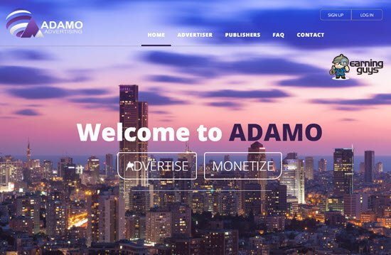 Adamo Adult Ad Network