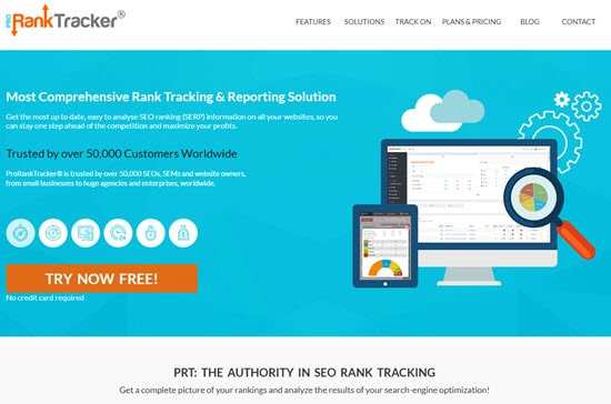 ProRankTracker Keyword Rank Tracker Tool