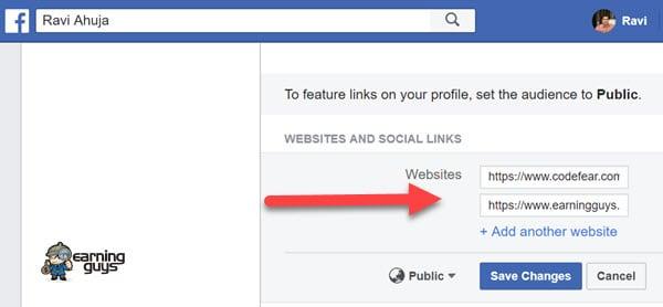Facebook Profile Link