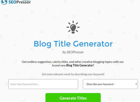 6 Blog Post Title Generator Tools to Create Catchy Titles