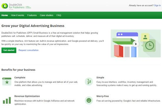 DoubleClick for Publishers Ad Servers