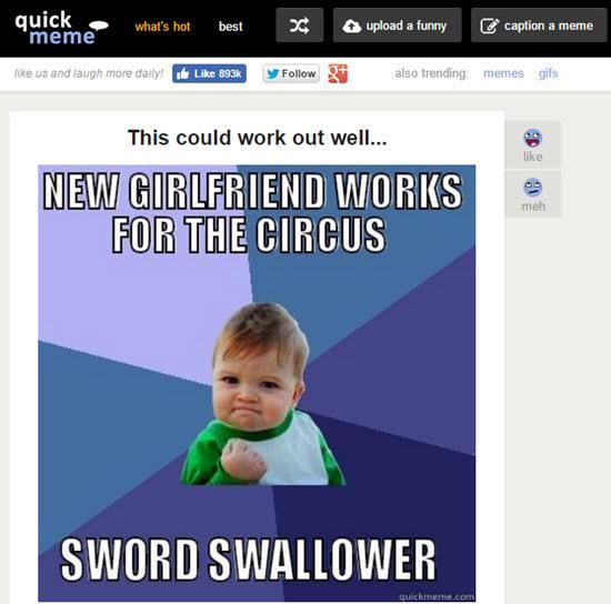 Quickmeme - Meme Generator Tools