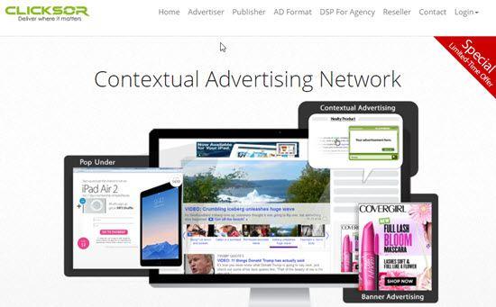 Clicksor Pay Per Click Ad Networks