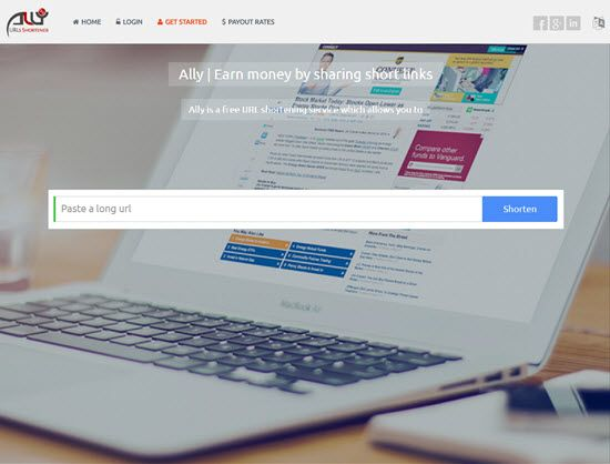 Al.ly URL Shortener