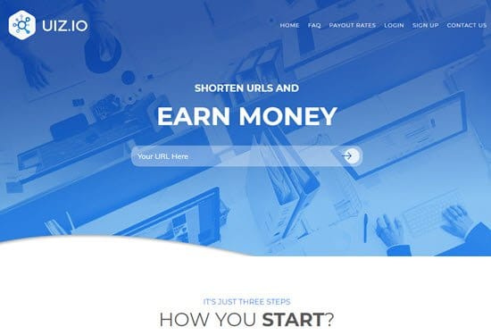 Uiz.io URL Shortner