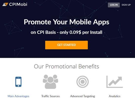CPIMobi CPI Ad Network