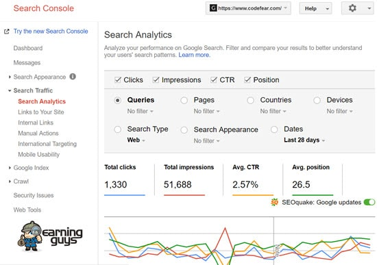 Google Search Console Best SEO Tool