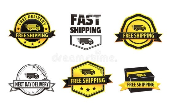 Shipping/Payment Badges