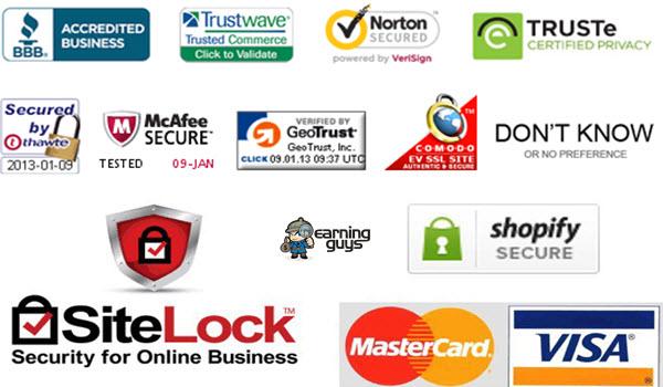 Site Seal & 6 Best Trust Badges