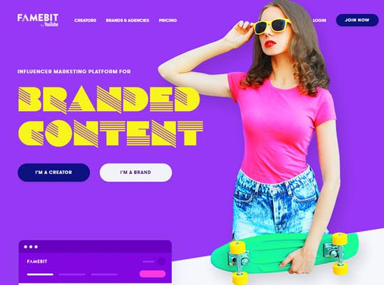FameBit Influencer Marketing Tool
