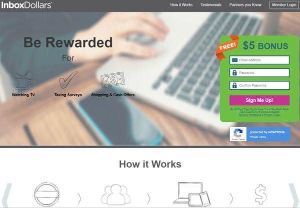 InboxDollars Paid Survey Sites