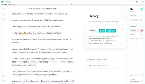 Grammarly Desktop App