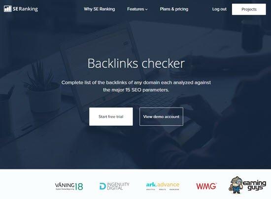 SE Ranking Backlinks Checker