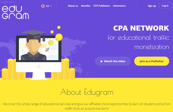 Edugram Educational CPA Affiliate Network